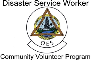 Trinity County Office of Emergency Services Disaster Service Worker Community Volunteer Program