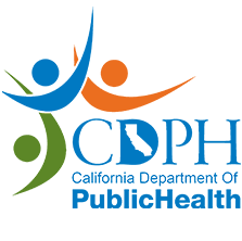 California Department of Public Health Logo and link