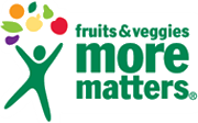 Fruits and Veggies more matters logo and link