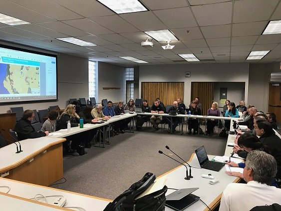 Photo of Meeting in Session - January 2020