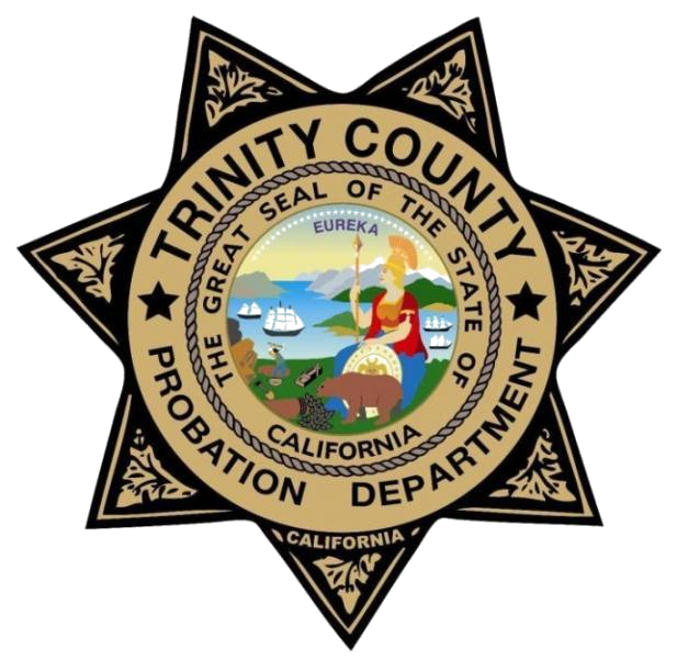Trinity County Probation Department Badge
