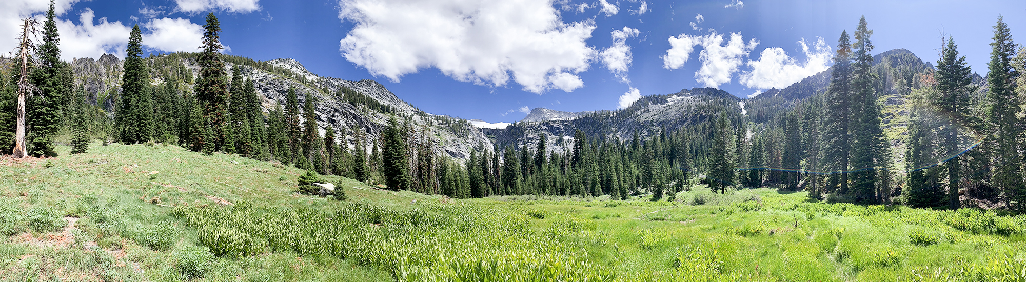 Grizzly Meadows in Trinity Alps Wilderness